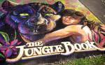 Jungle Book Chalk Art