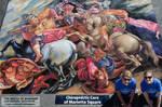 Battle of Anghiari Chalk Art