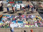 Alex Ross Beatles chalk art Reproduction