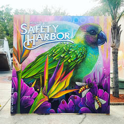 Safety Harbor FL Mural by charfade