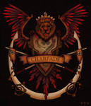 Charfade Coat of Arms Red
