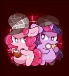Detective pinkie pie , Assistant twilight
