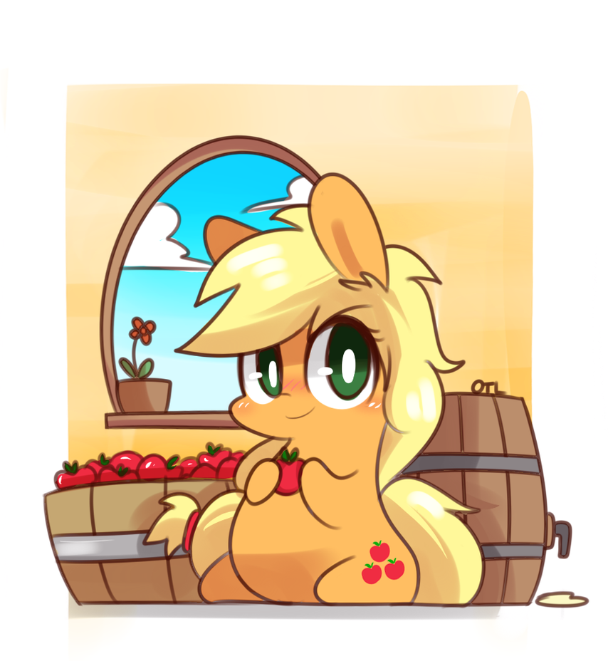 Applejack by MACKINN7