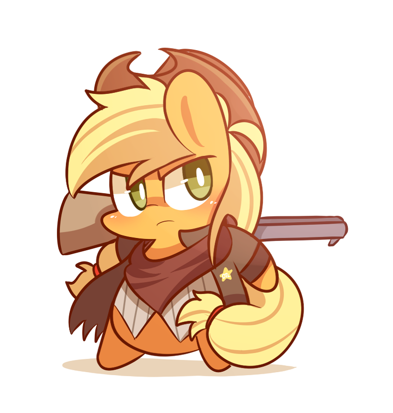 Sheriff applejack by MACKINN7