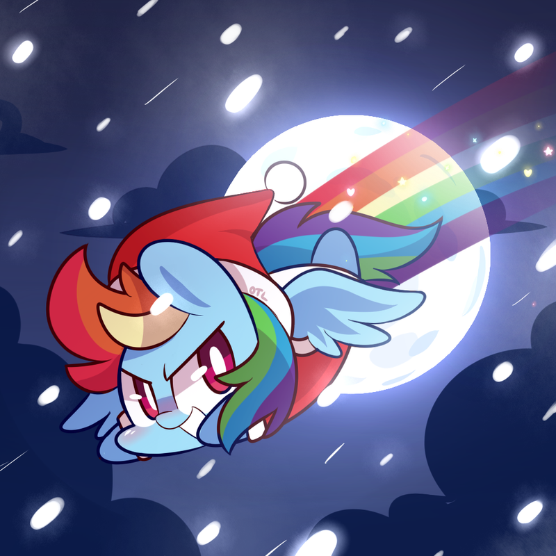 Rainbow Santa by MACKINN7