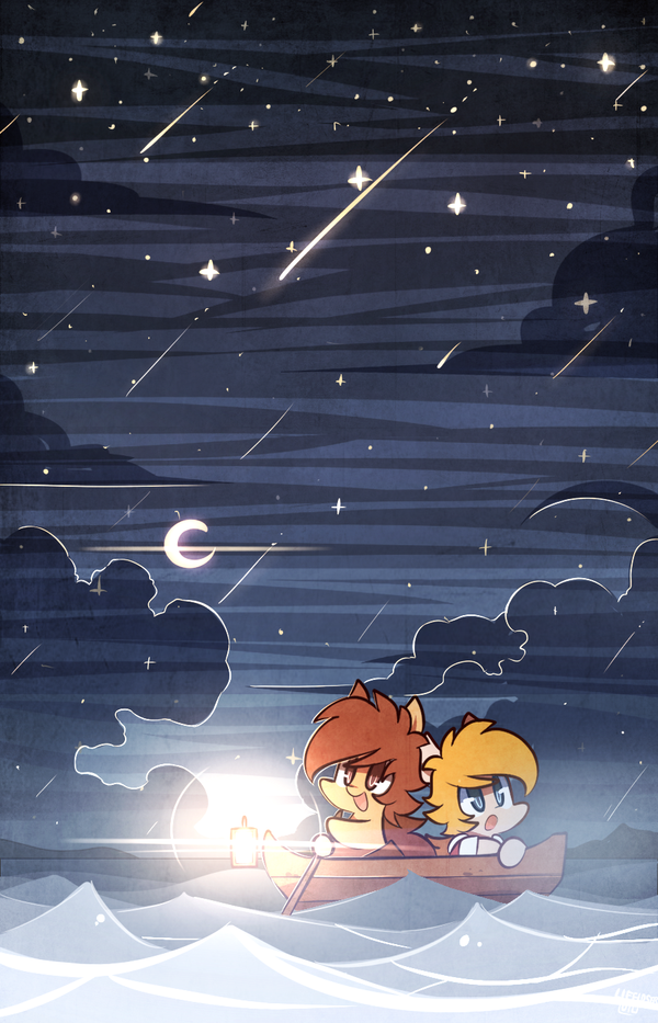 2.Starry night by MACKINN7