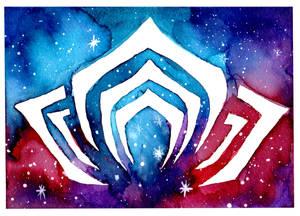Galaxified Warframe Logo