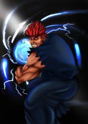 Evil Ryu Copy by thrankslash