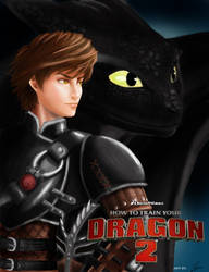 How To Train Your Dragon Finish by thrankslash