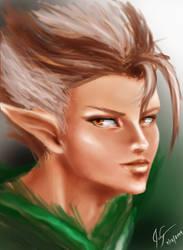 Elf by thrankslash