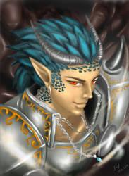 Dragon slayer by thrankslash
