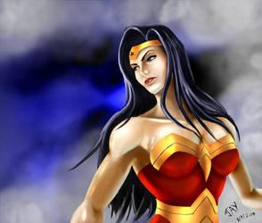 Wonder Woman by thrankslash