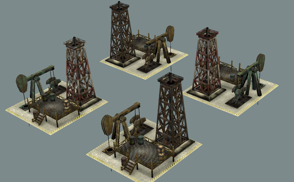 OilDerrick for Generals Evolution mod by sgor00