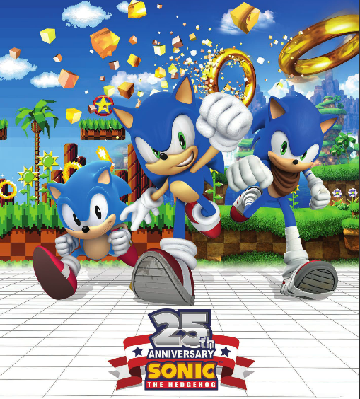 Sonic The Hedgehog 25th Anniversary by SIMBA2131