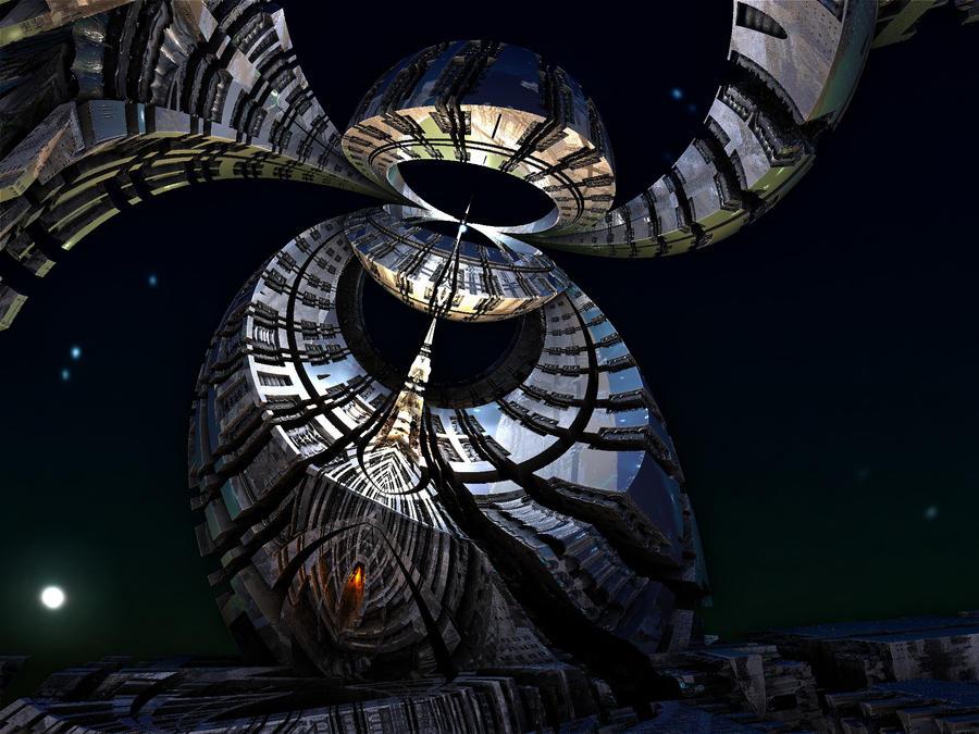 Alien's Telescope by Coolok