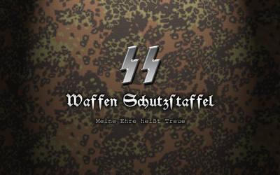 Waffen SS Rauch. Pattern by Xtragicfever