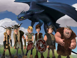 How To Train Your Dragon by MySoulBliss