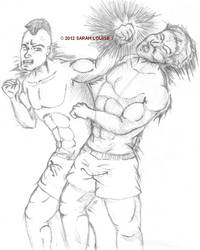Boxing - Sketch