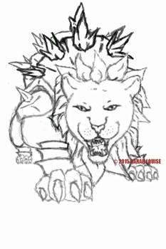 Ice Pine Armour - Sketch