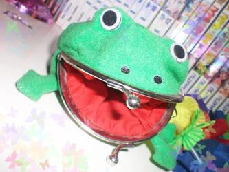 Smile._ Frog Wallet