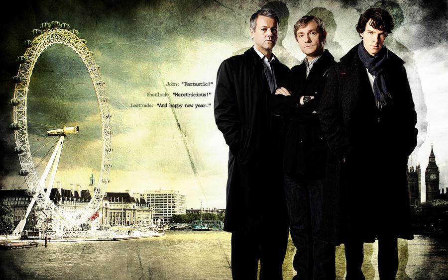 BBC Sherlock Wallpaper by lieutenantsubtext ...