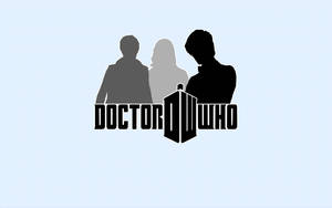 Doctor Who Wallpaper Simple by lieutenantsubtext