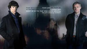 Sherlock Subtext Wallpaper