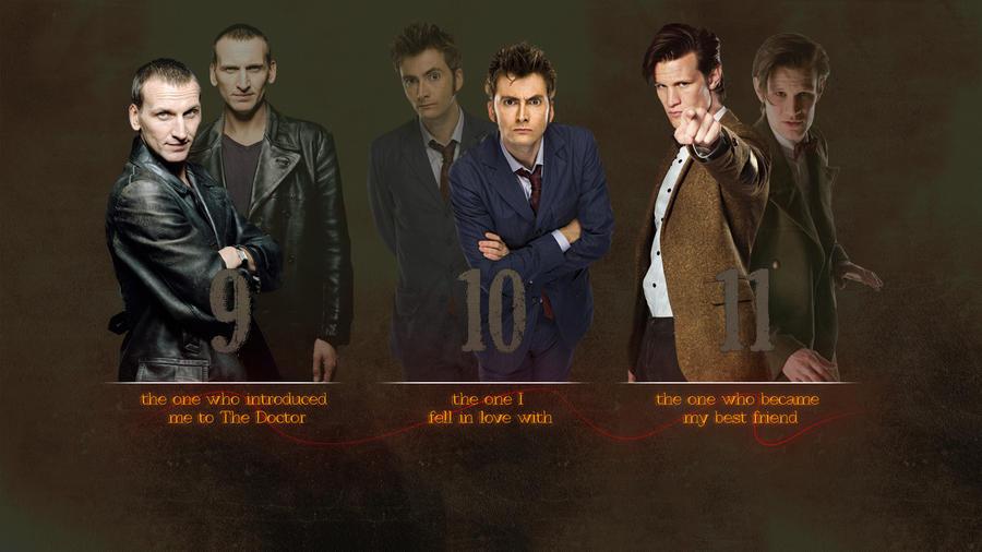 3 Doctors Wallpaper by lieutenantsubtext on DeviantArt  All 12 Doctors Wallpaper
