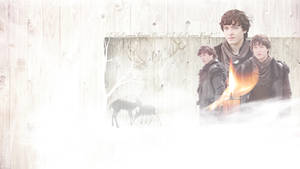 BBC Merlin_Mordred Wallpaper