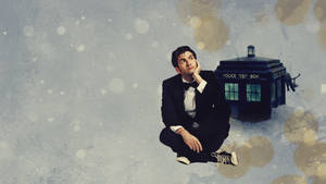 Doctor Who Winter Wallpaper