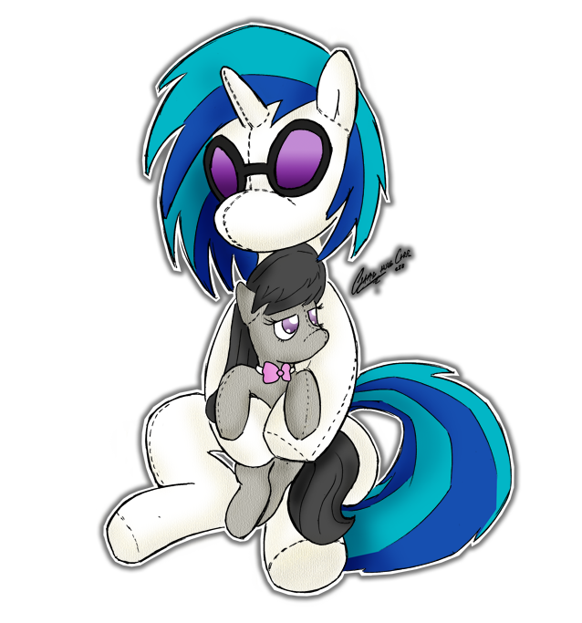 Scratch + Octavia Plushie Reqs by ClaireAnneCarr