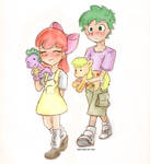Applebloom + Spike First date