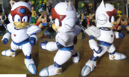Samurai Pizza Cats 3D Print by ssfactor