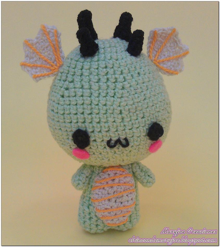 Amigurumi Chinese Dragon : Amigurumi Chinese Dragon by MaryjoeCreaciones on DeviantArt