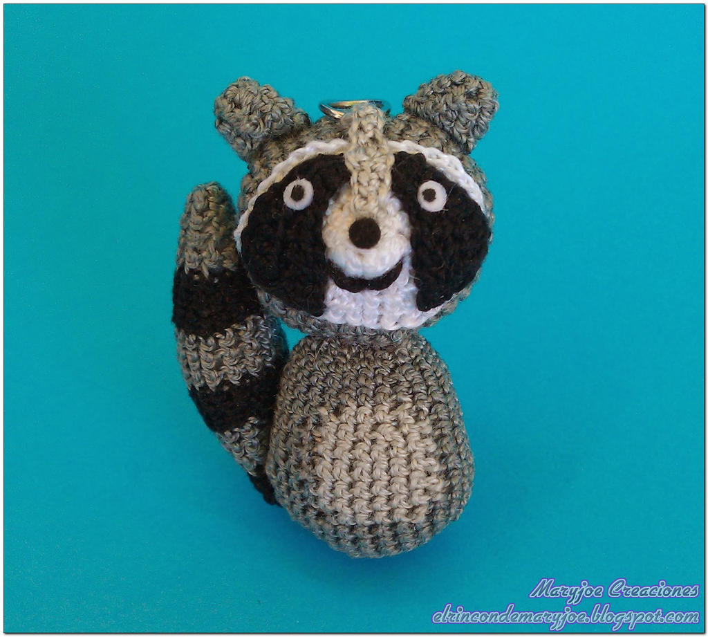 Amigurumi To Go Raccoon : Amigurumi Raccoon by MaryjoeCreaciones on DeviantArt