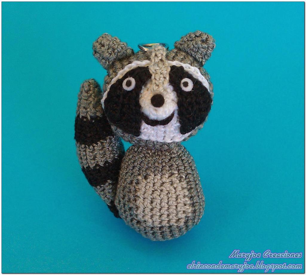 Amigurumi Raccoon : Amigurumi Raccoon by MaryjoeCreaciones on DeviantArt