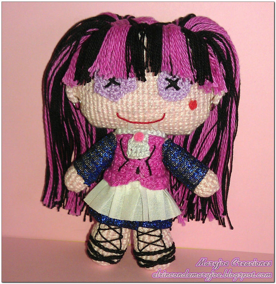 Amigurumi Voodoo Doll Monster High Draculaura by ...
