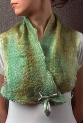 Cocoon and Shawl by lovetoast