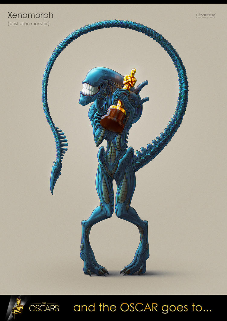 And the Oscar goes to... Xenomorph by Limper-SK