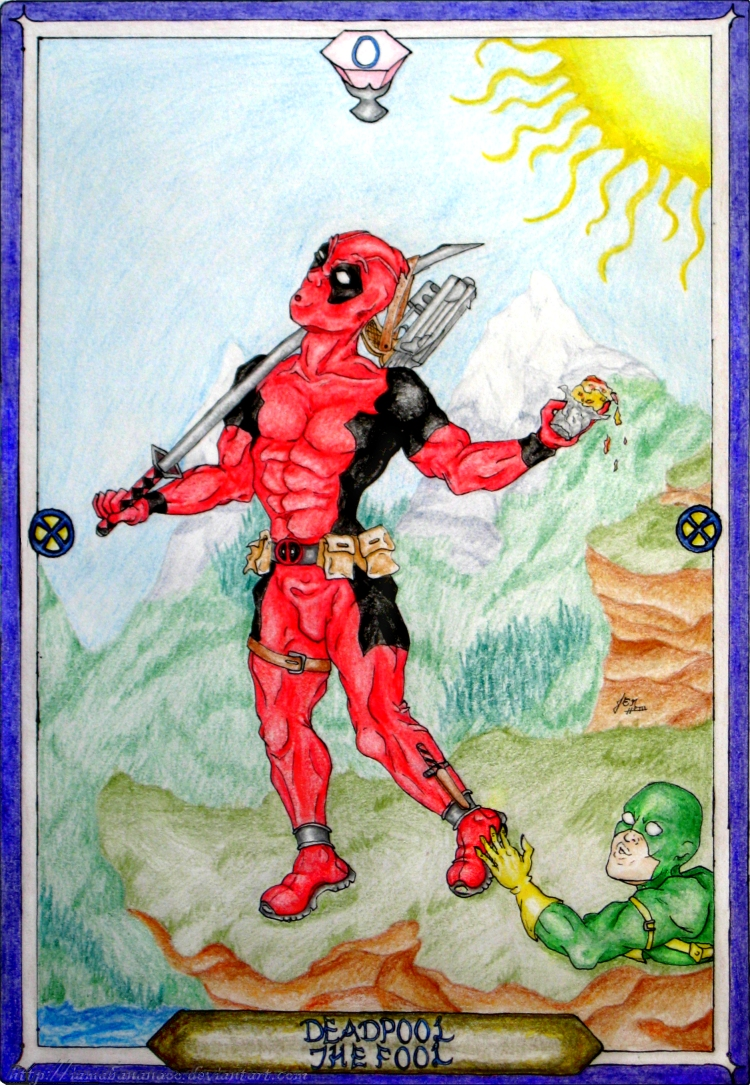 Tarot X The Wheel Of Fortune: The Fool By IAmABananaOo On