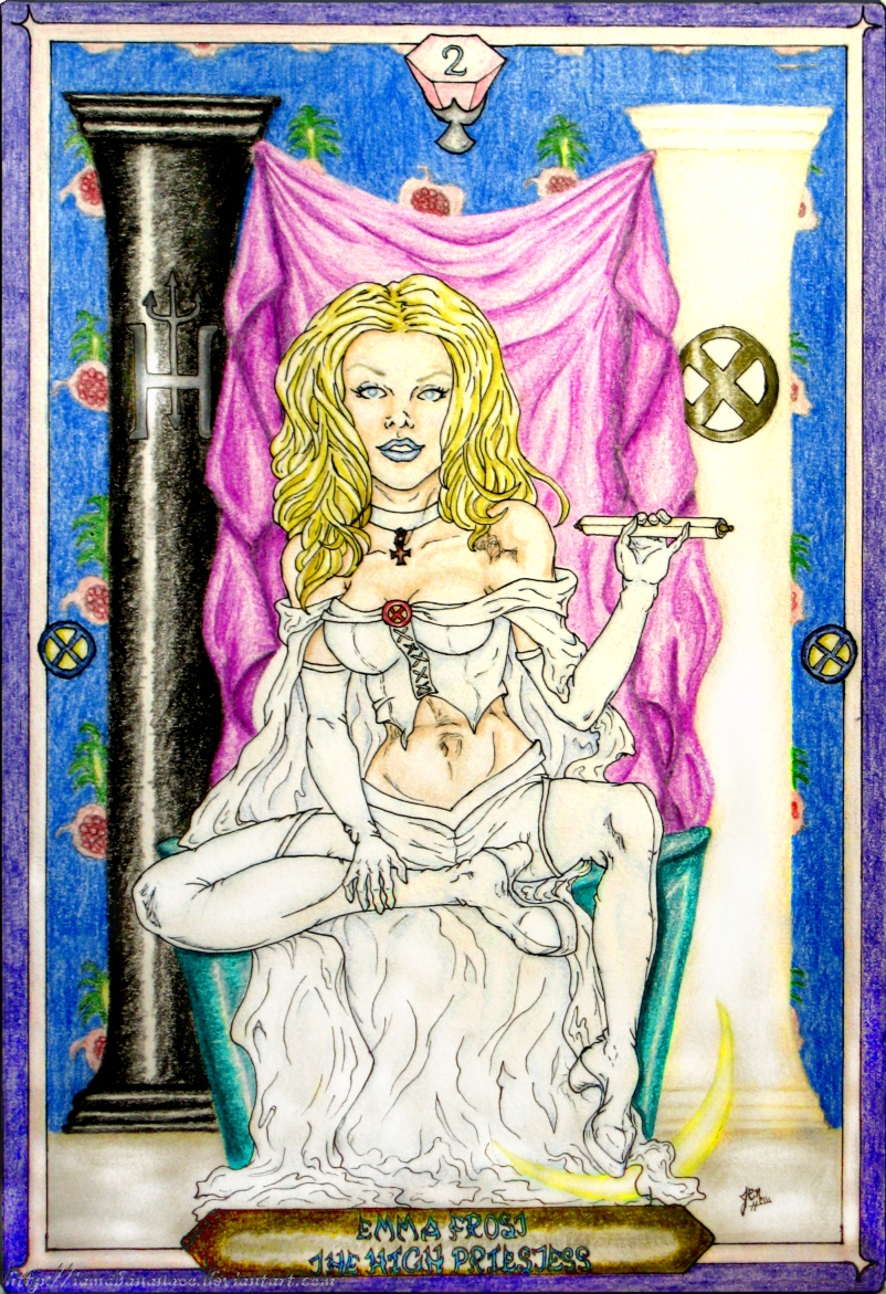 Tarot X The Wheel Of Fortune: The High Priestess By