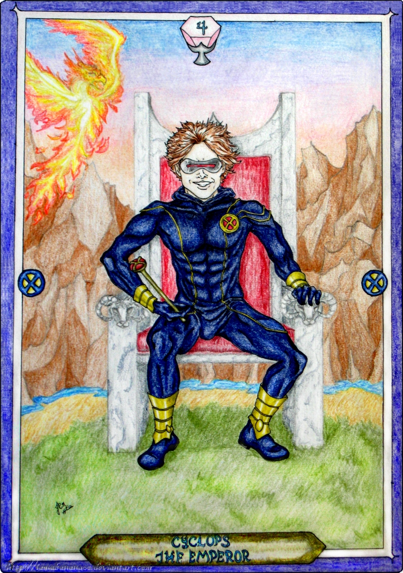 Tarot X The Wheel Of Fortune: The Emperor By IAmABananaOo On