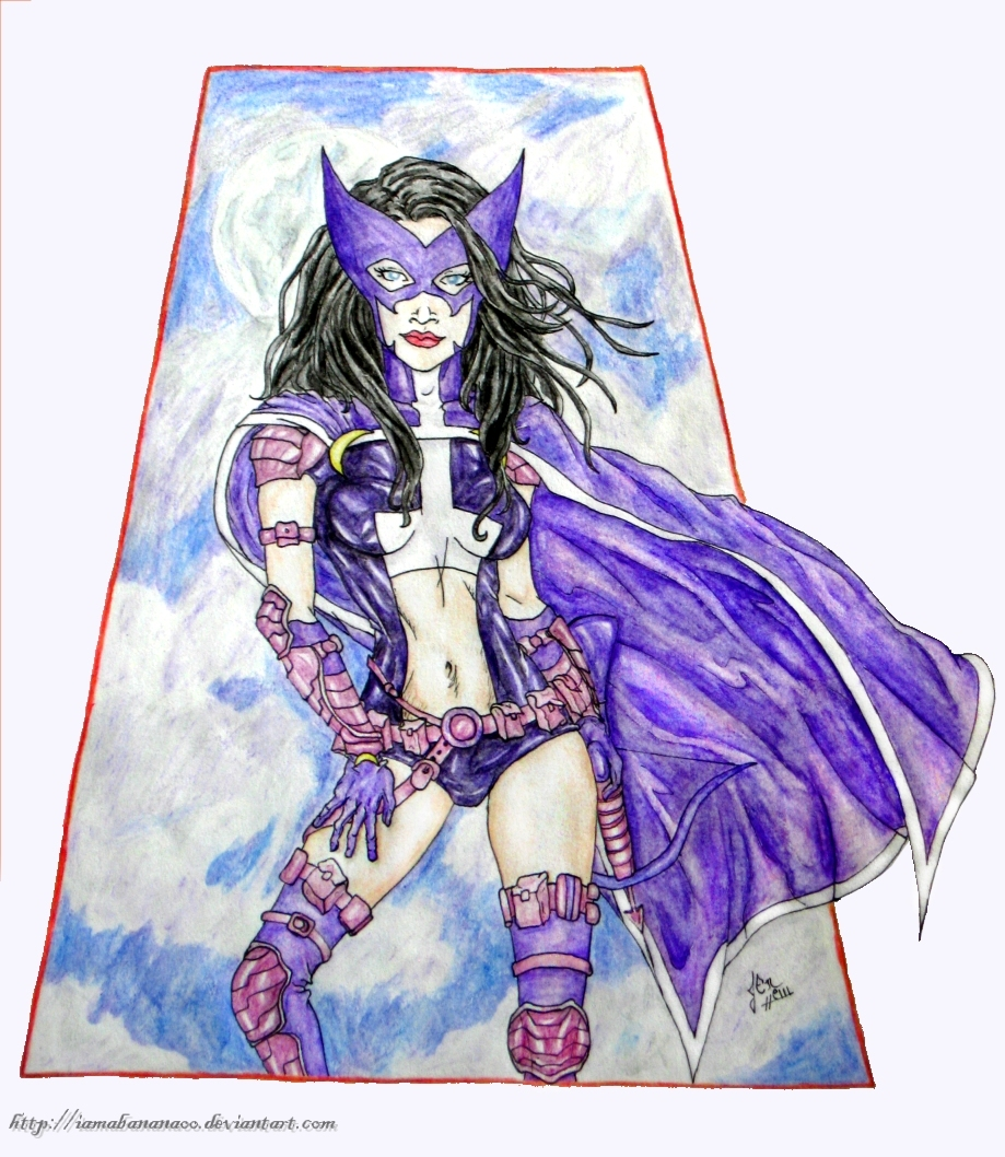 Huntress - Purple Haze by IAmABananaOo
