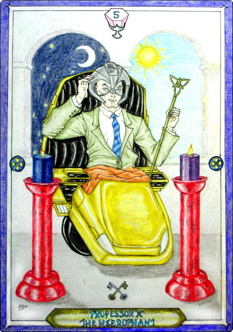Tarot X The Wheel Of Fortune: The Hierophant By IAmABananaOo