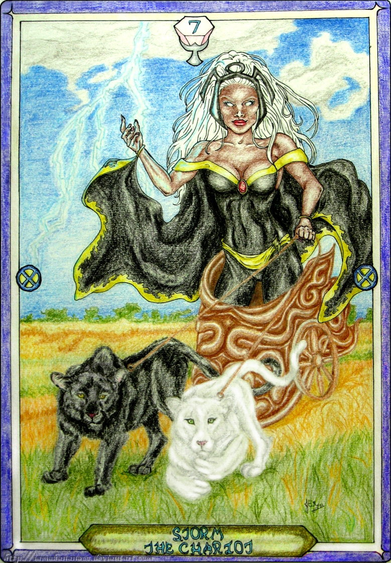 Tarot X The Wheel Of Fortune: The Chariot By IAmABananaOo On