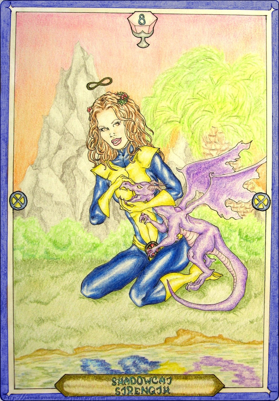 Tarot X The Wheel Of Fortune: Strength By IAmABananaOo On