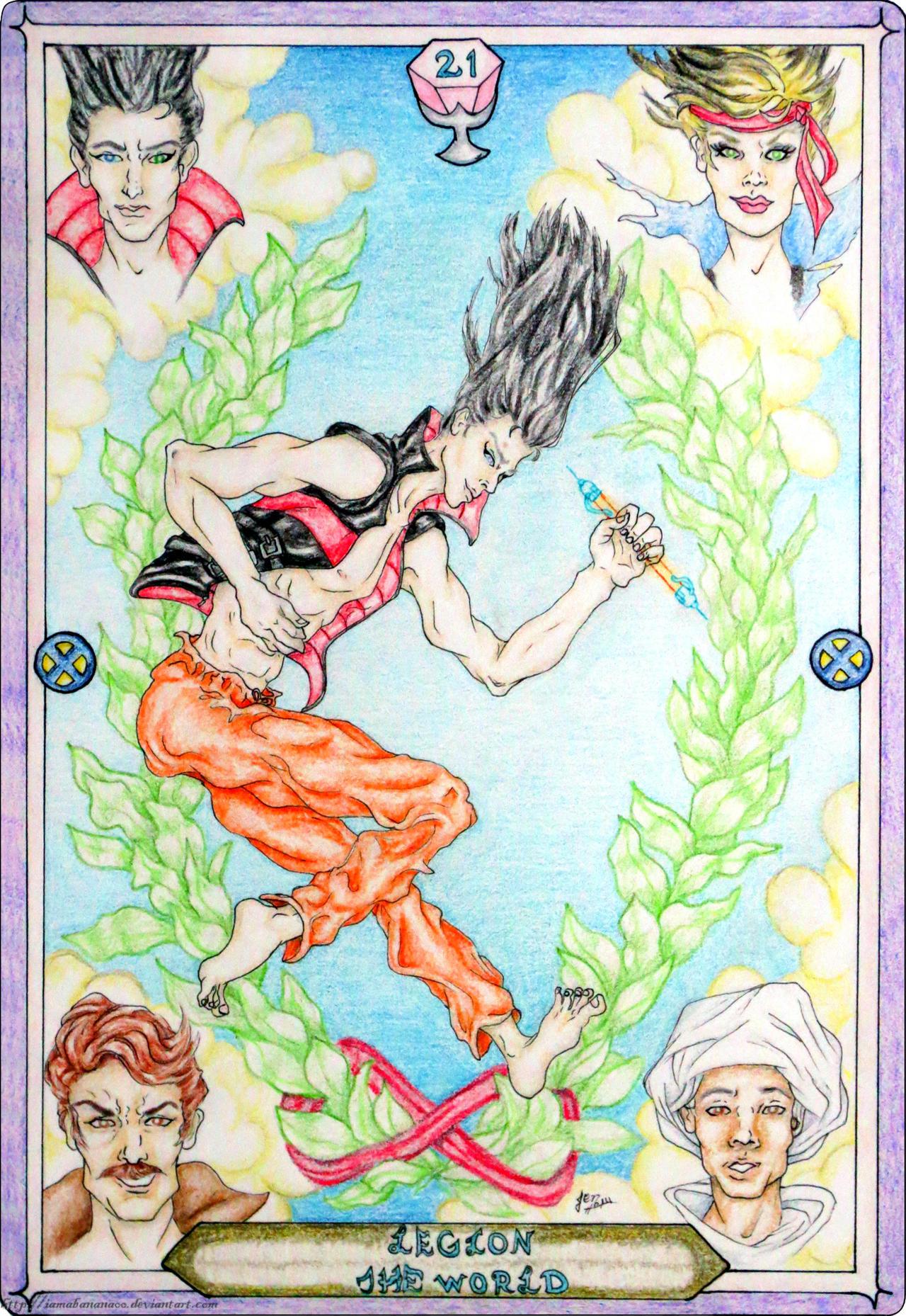 Tarot X The Wheel Of Fortune: The World By IAmABananaOo On DeviantArt