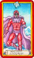 Marvel Tarot - Magneto - Judgement by IAmABananaOo