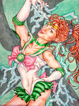 Sailor Jupiter - Thunderstruck by IAmABananaOo