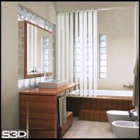 bathroom by SilvioGarcia